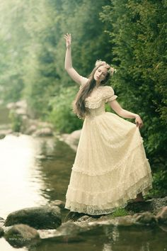 Fairy tale, forest maiden, fantasy, medieval
