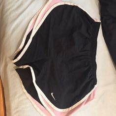 Nike shorts perfect condition. I cut the inside underwear out because it bothered me too much. other than that they're perfect Nike Other