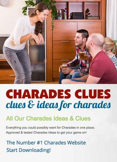Charades Words, Everything, Pop Culture, Games, Tv, Music, Movies, Free, Ideas