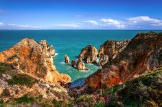 Beautiful Day at Ponta da Piedade, Lagos, Algarve, Portugal