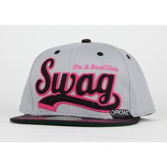 OFFICIAL Swag Mens Snapback Hat ($13) ❤ liked on Polyvore featuring mens, men's accessories, men's hats, hats, accessories, snapbacks and cap
