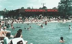 Way back in the day....Goldston's Beach at White Lake