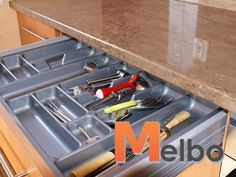 Wkład na sztućce do szuflady BLUM 100 cm POŁYSK