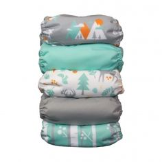Natural One Size All In One | Woodland Collection Package | Thirsties Baby