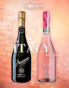 Perfect match for Valentine's Day // Prosecco & Rosé