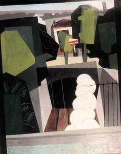 Gino Severini | 1883-1966, Italy, Futurism | Il tunnel / The tunnel, 1917