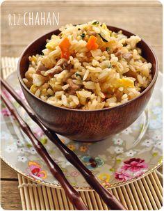 riz chahan (japanese fried rice)