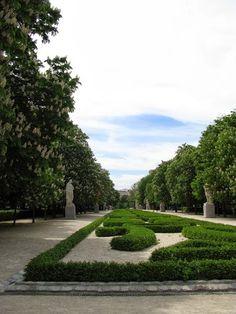 Retiro Park - Madrid, Spain