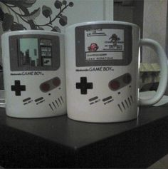 Just bought these Game Boy mugs, just in time for the 25th anniversary!