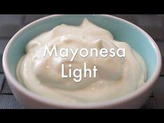 ▶ Cómo hacer Mayonesa light casera - Recetas de salsas - YouTube