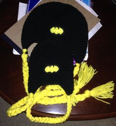 Super Hero Earflaps $20.00 plus shipping. Your earflaps beanie can be enhanced to rep some of your favorite Super Heroes!