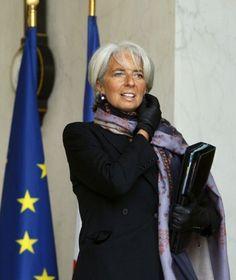Christine Lagarde, French lawyer/politician, 56