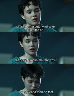 hard candy the movie.....one of the funniest lines in a disturbing way.