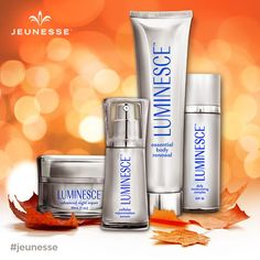 As the seasons change, so does your skin. Glow through fall by rehydrating, renewing, and revitalizing your skin on a cellular level with #Luminesce™. #jeunesse #jeunesseglobal #redefiningyouth #generationyoung