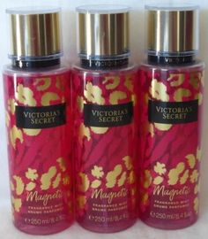 Bath And Body: 3 Victorias Secret Magnetic Fragrance Body Mist 8.4 Fl Oz -> BUY IT NOW ONLY: $34.95 on eBay!