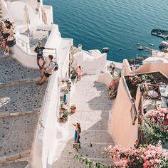 Call it dreamland #santorini #greece #neverleaving