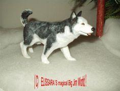 Big Jim - Arctic Rescue - custom Husky , Schlittenhund Hund - Sled dog