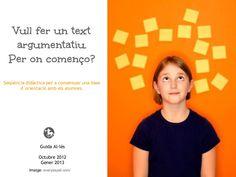textos-argumentatius-organitzadors-grafics-i-bases-dorientacio by Guida Allès Pons via Slideshare