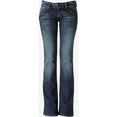 Hudson Jeans Signature Bootcut Petite ($189) ❤ liked on Polyvore