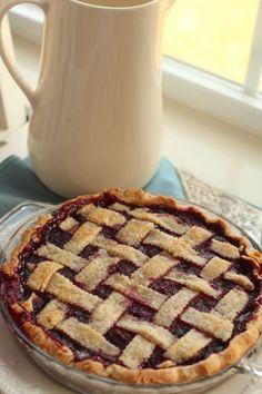 Scarlett O'Hara Raspberry Pie