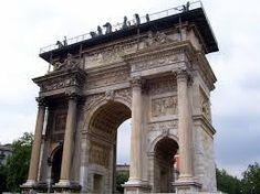 milano arco della pace restauro - Cerca con Google Pace, Barcelona Cathedral, Italy, History, World, Building, Travel, Bella, Google