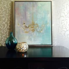"""Maleri - """"Stemning"""" Design, Pattern Design, Hand Painted, Painting, Watercolor And Ink, Art, Surface Pattern Design, Arts And Crafts"""