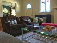 sadie + stella: Client living room reveal