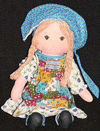 27-inch Holly Hobbie doll.  My dad drove all over town to get me this when I was young.  I still have it, tucked safely in a box.  #HollyHobbie