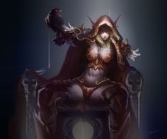 Above Nude sylvanas windrunner think