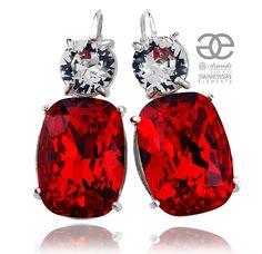 Modne kolczyki z kryształami Swarovskiego. Sprawdź, który kolor pasuje do Twojego nastroju: czerwony, turkusowy, zielony czy jeszcze inny. Zobacz: http://arande.pl/store/pl/p/SWAROVSKI-PIEKNE-KOLCZYKI-CZERWONE-CRYSTAL-SREBRO/4335