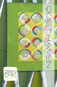 Quiet Haven #zenchic modern #quiltpattern now available as an instant PDF-Download here https://zenchic.dpdcart.com/cart/add?product_id=72359&method_id=74934