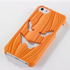 Halloween pumpkin iPhone case I officially want an iPhone now. Uggh.