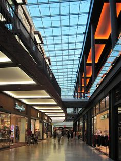 Shopping Mall Architecture, Shopping Mall Interior, Retail Interior, Mall Design, Retail Design, Atrium, Skylight Glass, Shoping Mall, Architectural Lighting Design