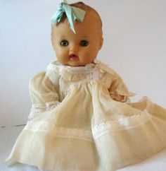 Vintage 1950s Betty Bows Sun Rubber Baby Doll & Clothes (07/12/2011)