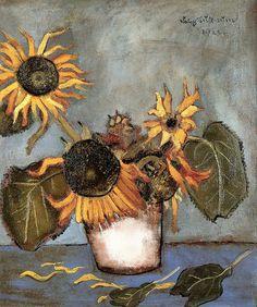 Felix Nussbaum - Sunflowers