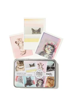 message in a box, CATS