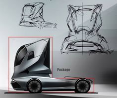 Truck Concept by Hermann Seitz-Design Sketches