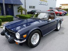 Triumph : TR-6 CONVERTIBLE - I've had four but need one now.