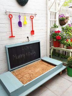 Garden Ideeas/Projects Backyard for kids, Child friendly garden, Backyard playground, Diy garden, Ga Outdoor Fun For Kids, Outdoor Play Areas, Backyard For Kids, Backyard Shade, Pergola Shade, Playground Design, Backyard Playground, Playground Ideas, Goat Playground
