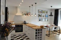 Nadwiślańska \ realizacja: styl Skandynawski, w kategorii Kuchnia zaprojektowany przez NIESKROMNE PROGI