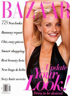 Bazaar January 2002 - Cameron Diaz