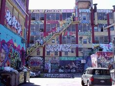 Five Points, Queens, NY...graffiti haven