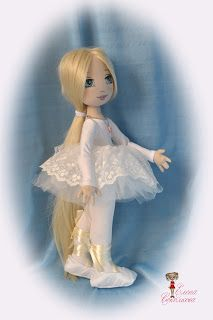 Soul of a rag doll: Young ballerina Leia