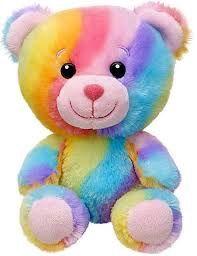 New Build a Bear Colorful Rainbow Hugs Baby Buddies Teddy 7 in. Teddy Bear Images, Teddy Bear Pictures, My Teddy Bear, Cute Teddy Bears, Bear Pics, Cute Cartoon Drawings, Cute Animal Drawings, Polly Pocket, Teedy Bear