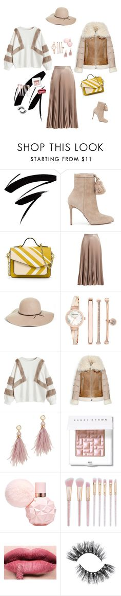 """:-)"" by anakonak ❤ liked on Polyvore featuring MICHAEL Michael Kors, A.L.C., Halogen, Anne Klein, Moncler, Lizzie Fortunato and Bobbi Brown Cosmetics"