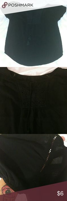 Ladys large blouse Large.  Casual style blouse No Boundaries Tops Blouses