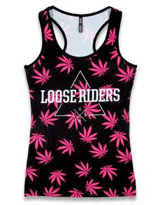 Loose Riders Damen FLOW Tank-Tops.Tattoo,Biker,Pin up,Radsport,Custom Style