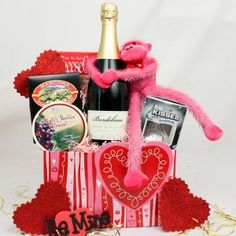 7 Best Valentine Baskets Images Valentine Baskets Gift Basket