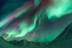 northern lights , Alaska