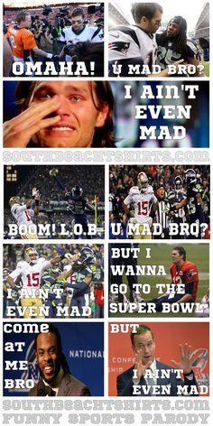 LOL @ The 2014 Super Bowl Soap Opera Meme.